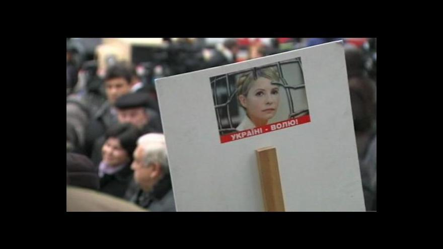 Video Tymošenkovou znovu soudí