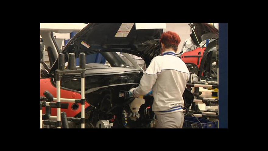 Video Ekonomika ČT24: Fiat zahajuje výrobu v Srbsku