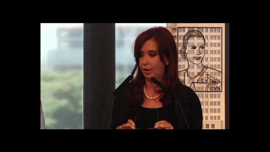 Video Ekonomika ČT24: Argentina znárodňuje