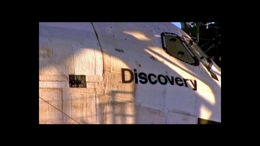 Video Poslední cesta raketoplánu Discovery