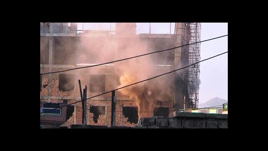Video Boje v Afghánistánu pokračovaly i v noci