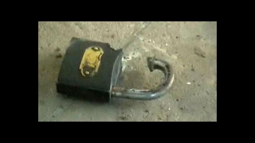 Video Z pákistánské věznice utekli trestanci