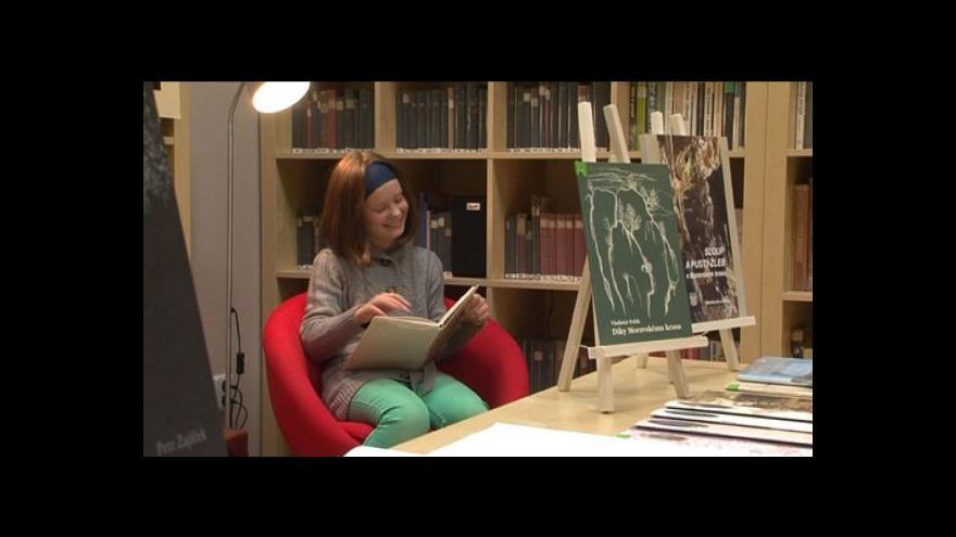 Video Knihovnice Olga Hájková o knihovně