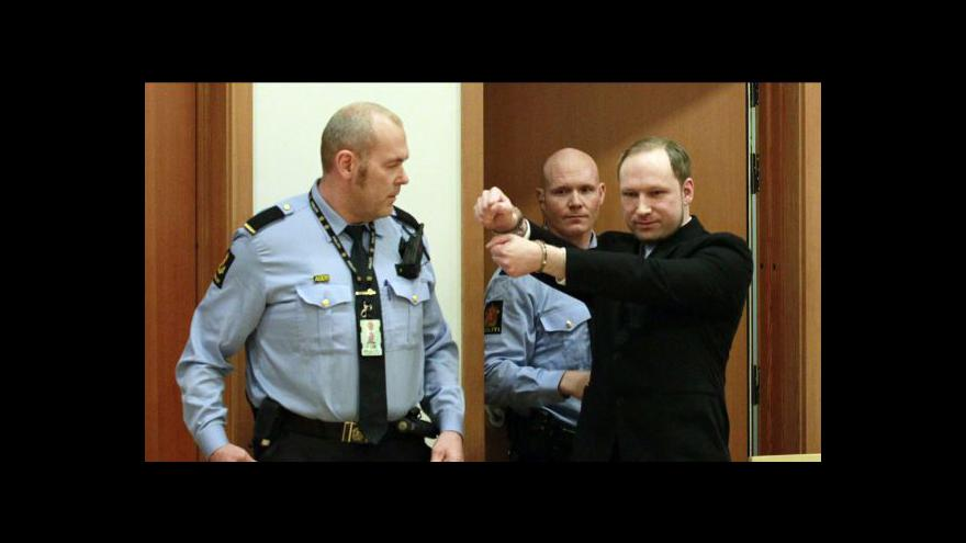 Video Začíná soud s atentátníkem Breivikem