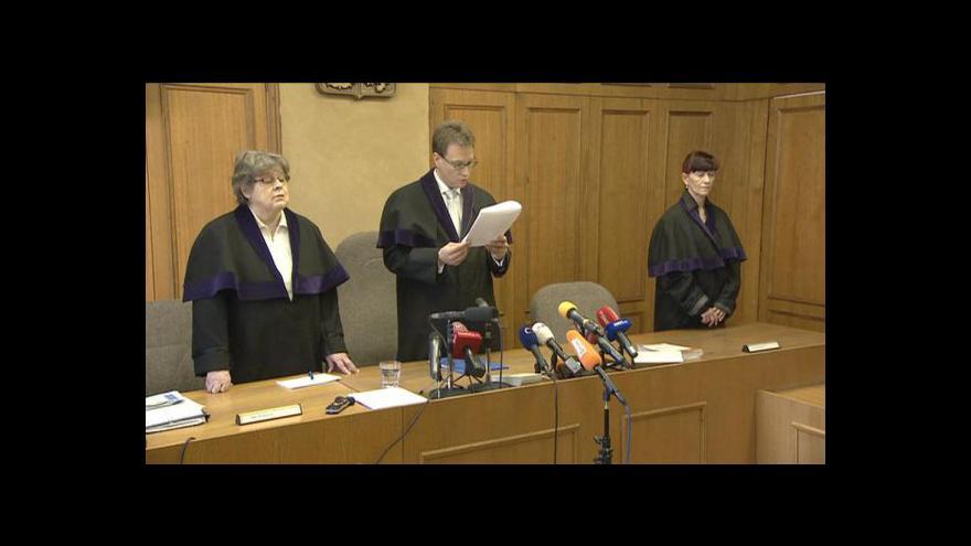 Video Rozsudek nad Vítem Bártou a Jaroslavem Škárkou