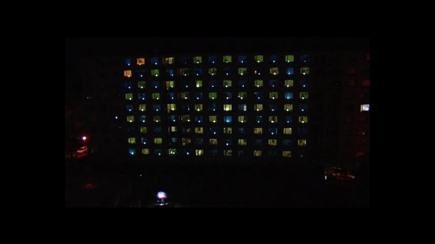 Video NO COMMENT: Světelná show na kolejích VUT