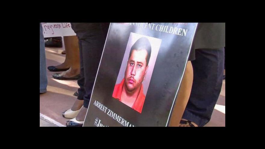 Video George Zimmerman byl obviněn z vraždy