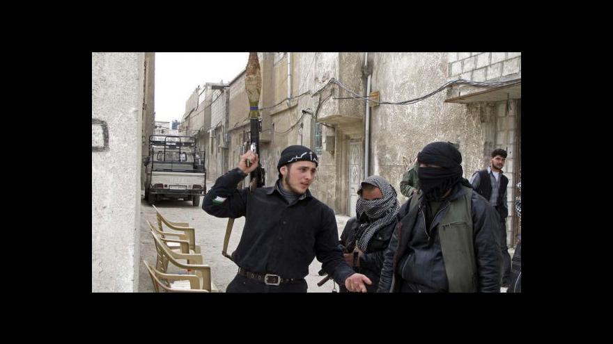 Video Příměří v Sýrii