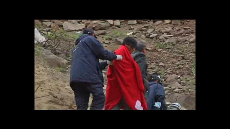 Video Peruánští horníci - záchrana po šesti dnech