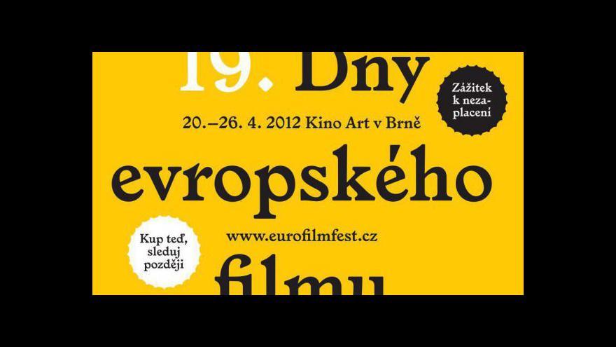 Video Začínají dny evropského filmu