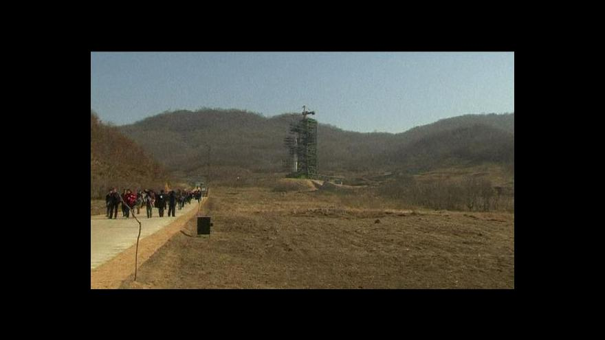 Video KLDR plní raketu palivem