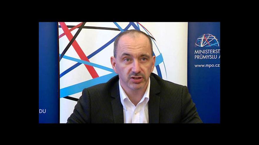 Video TK ministra průmyslu Martina Kuby ke smlouvě ACTA