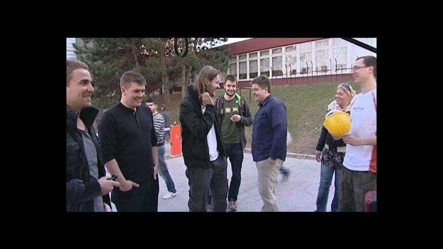 Video Přípravy na světelnou show