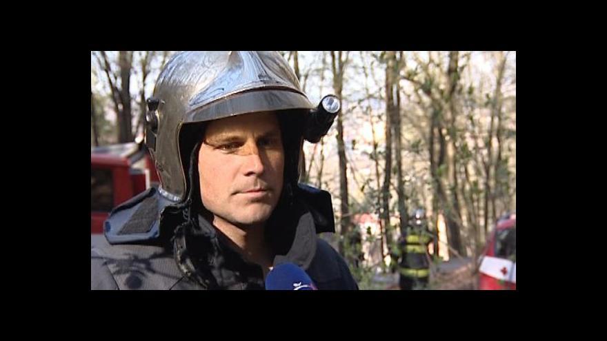 Video Velitel hasičů o zásahu