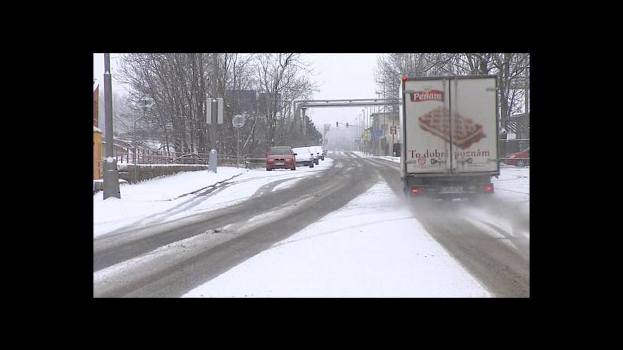 Video Do Česka se vrátil sníh