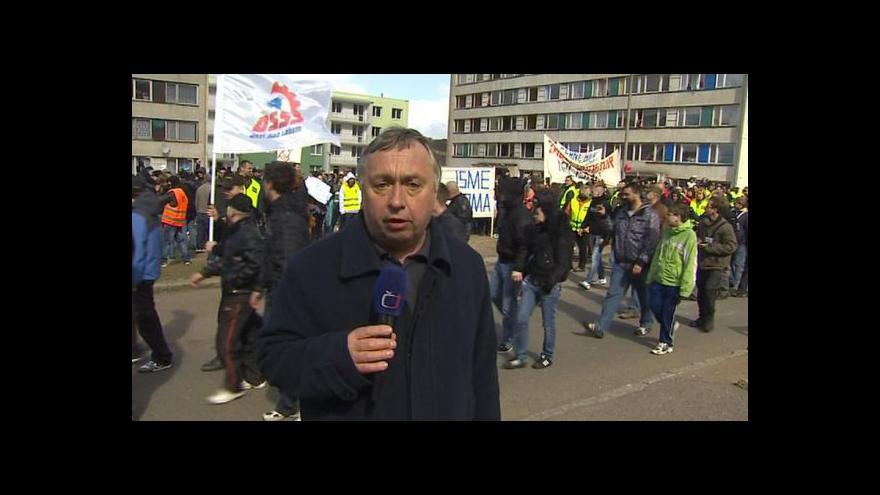 Video Vstup a reportáž Jana Stuchlíka