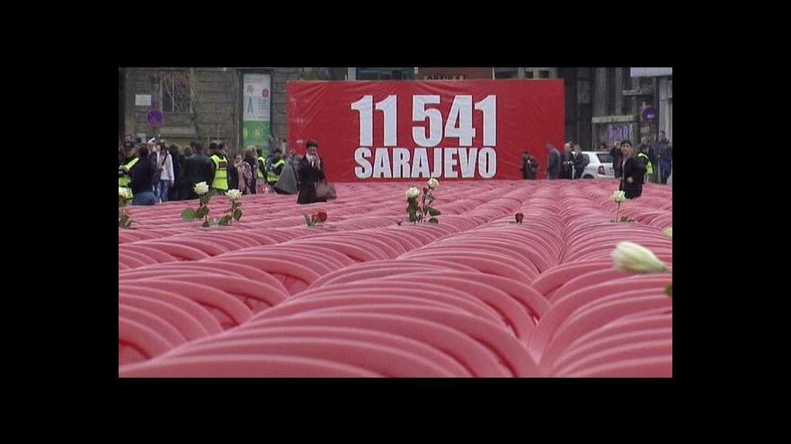 Video Bosna si připomíná dvacáté výročí konfliktu