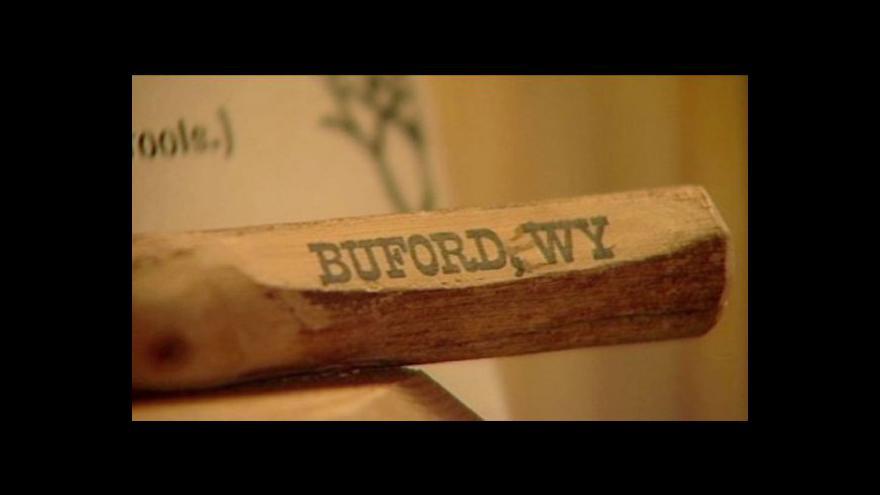 Video Americké město Buford vydraženo