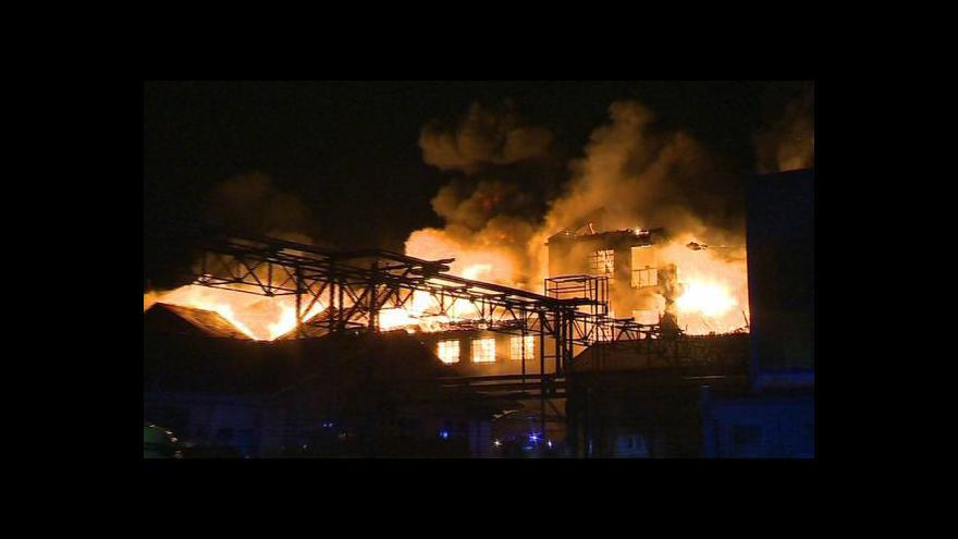 Video Jak na požár vzpomíná velitel SDH Chropyně Věnek Zapletal?