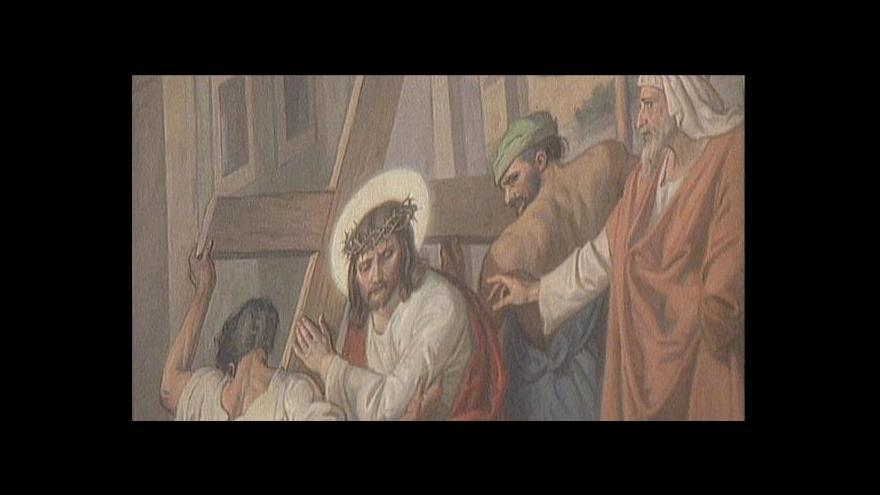 Video Velký pátek, den ukřižování Ježíše Krista