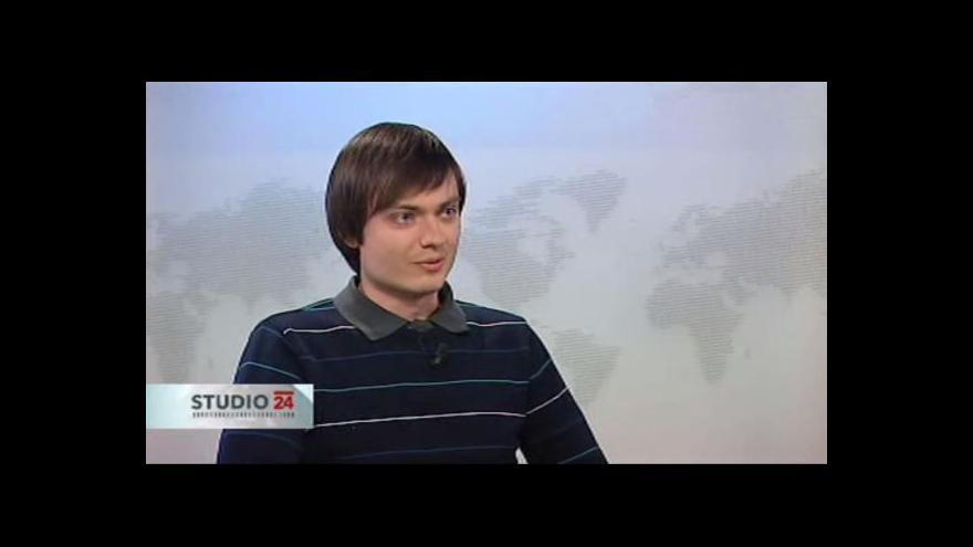 Video Tomáš Kvasnička z Inventury demokracie ve Studiu ČT24