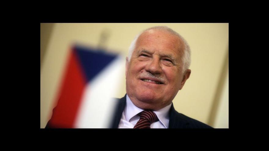 Video Vystoupení prezidenta Klause na Žofínském fóru