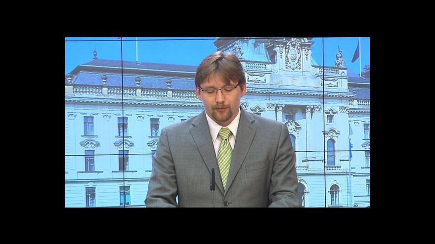 Video Brífink Pavla Dobeše