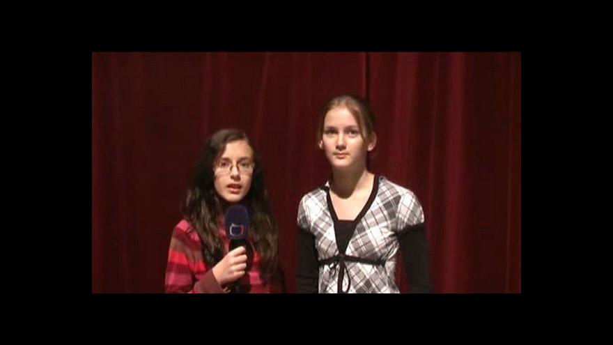 Video Reportáž Michaly Jalůvkové a Dominiky Johánkové
