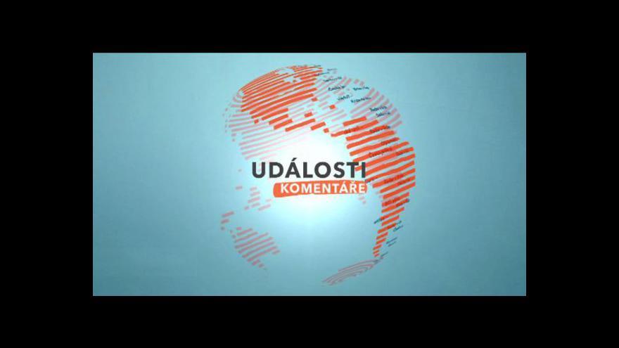 Video Vládní krize tématem Událostí, komentářů