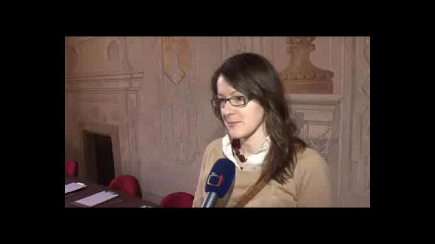 Video Hovoří jedna z odpůrkyň kácení Lucie Kuželíková