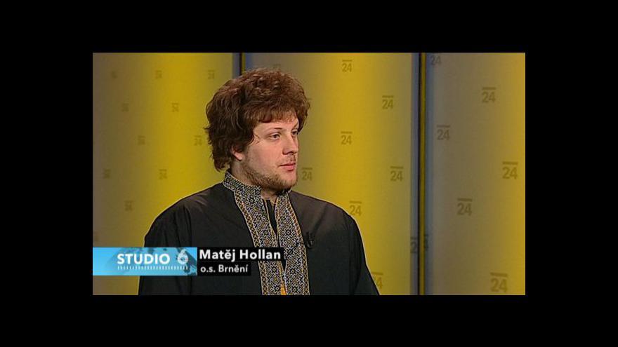 Video Rozhovor s Matějem Hollanem