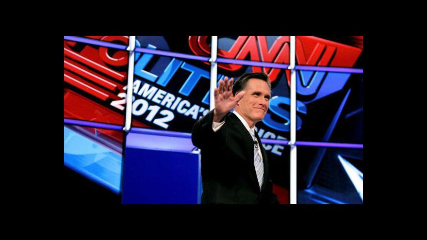 Video Favoritem ve Washingtonu, Marylandu a Wisconsinu je Romney