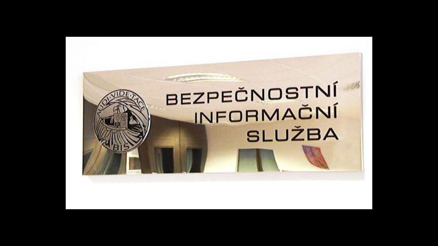 Video Poslanci vyslechnou šéfa BIS v úterý