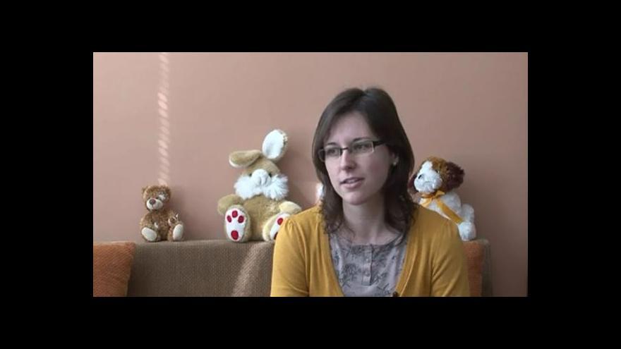 Video Hovoří pracovnice Klokánku Kateřina Zálešáková