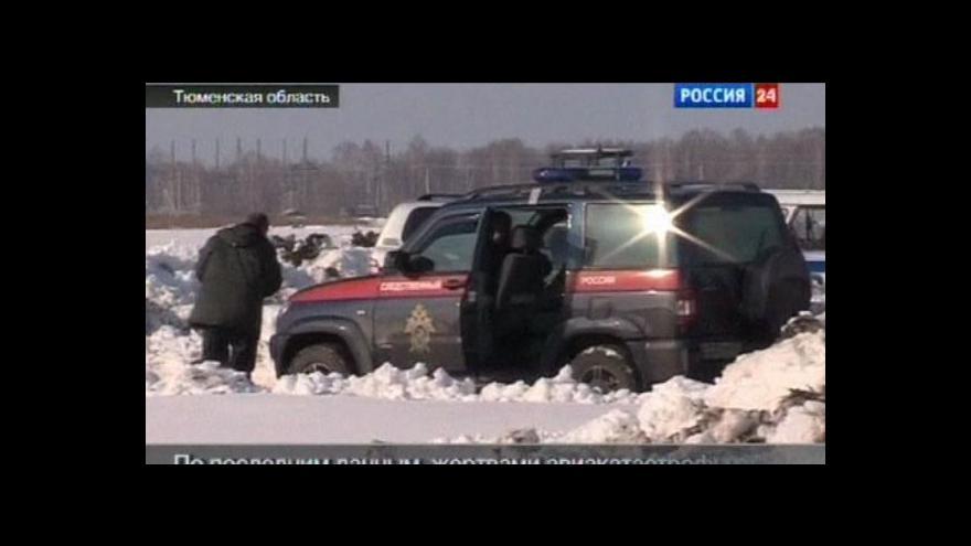 Video V Rusku havarovalo letadlo
