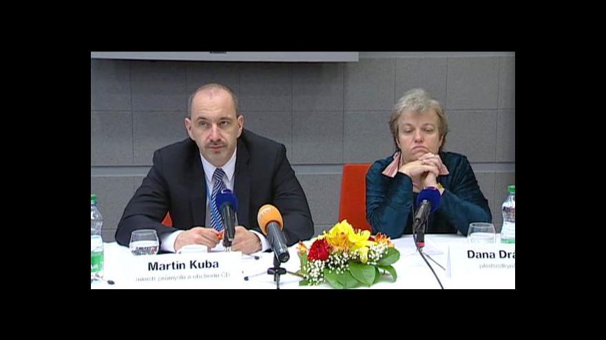 Video Brífink ministerstev průmyslu a dopravy k dostavbě Temelína