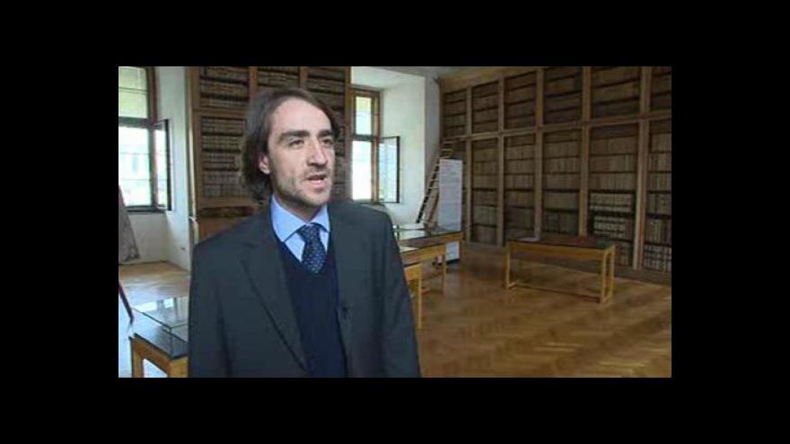 Video Hovoří Ondřej Zatloukal z Arcidiecézního muzea Kroměříž