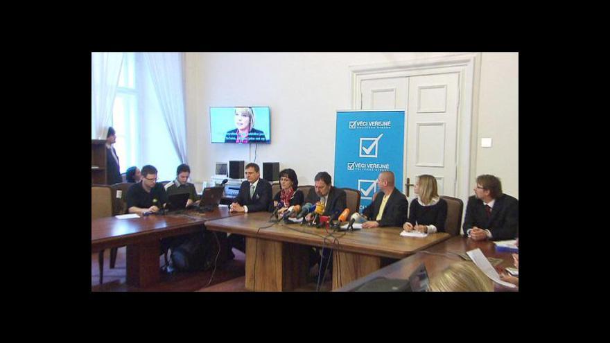 Video Reportáž Olgy Málkové a Petra Vaška