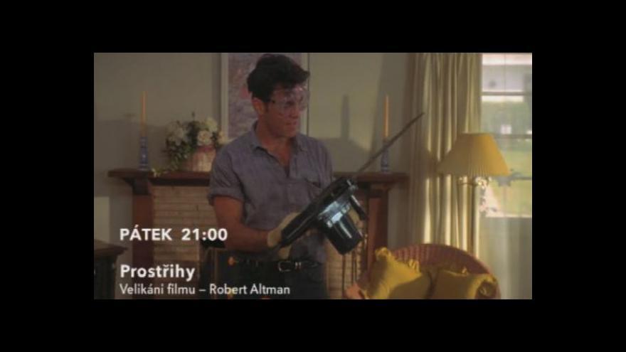 Video Ukázka z filmu Prostřihy