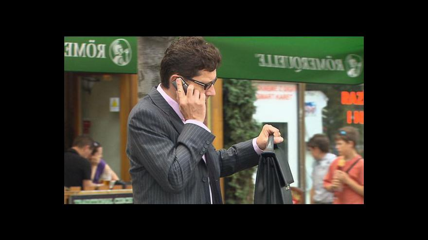 Video Telefonát Jana Matury