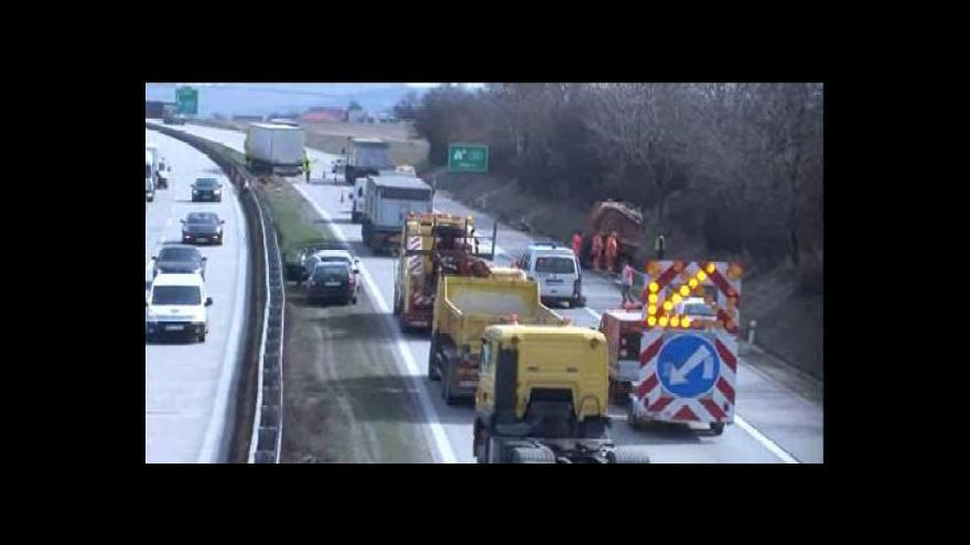 Video No comment: Nehoda na D1