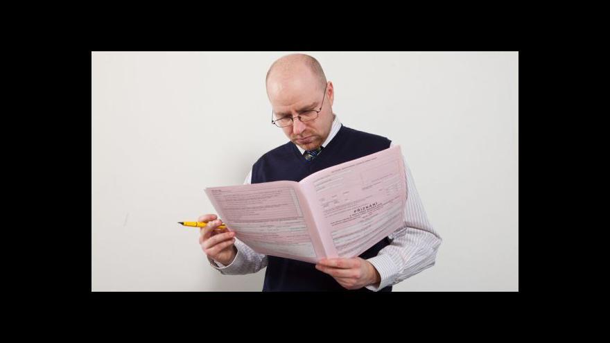 Video Týden do daní tématem Ekonomiky ČT24
