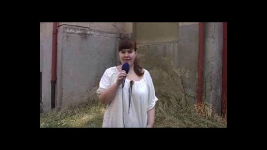 Video Reportáž Charloty Dědkové