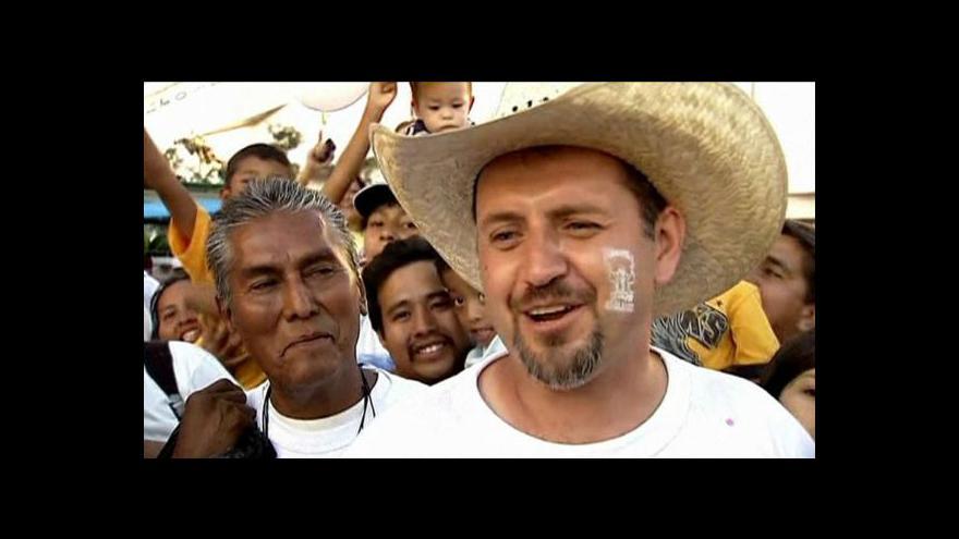 Video Papež přijel do Mexika