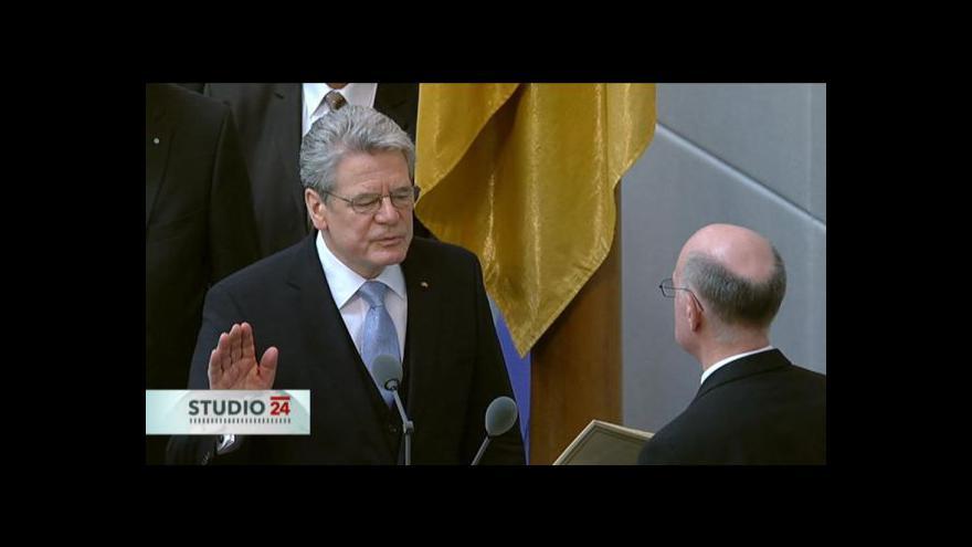 Video Projev Joachima Gaucka