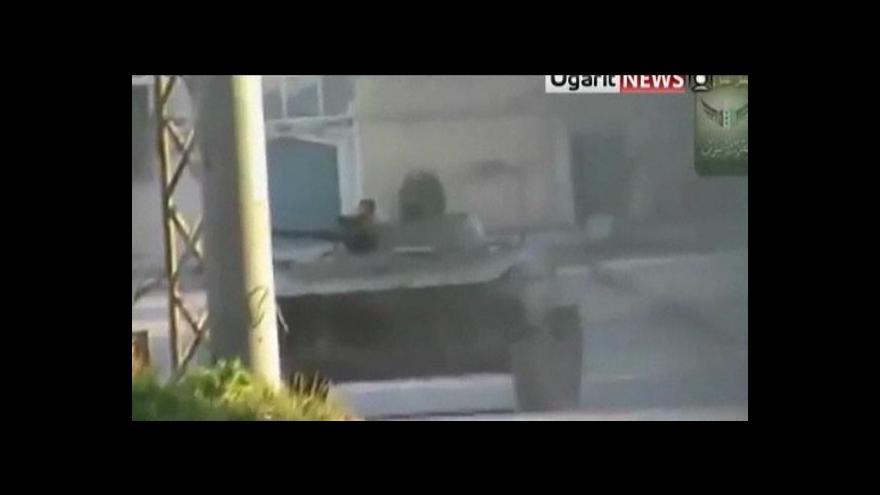 Video EU zpřísnila sankce vůči Sýrii