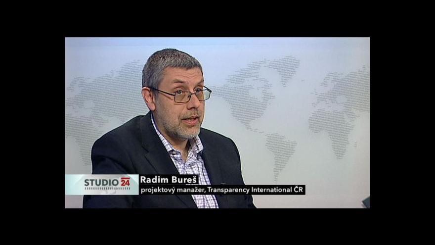 Video Studio ČT24: Eurodotace podle Transparency International