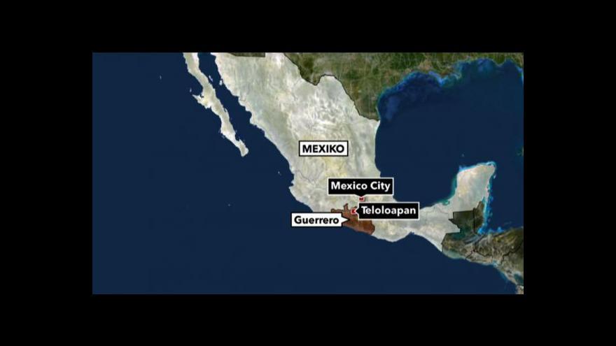 Video V Mexiku zavraždili 12 policistů