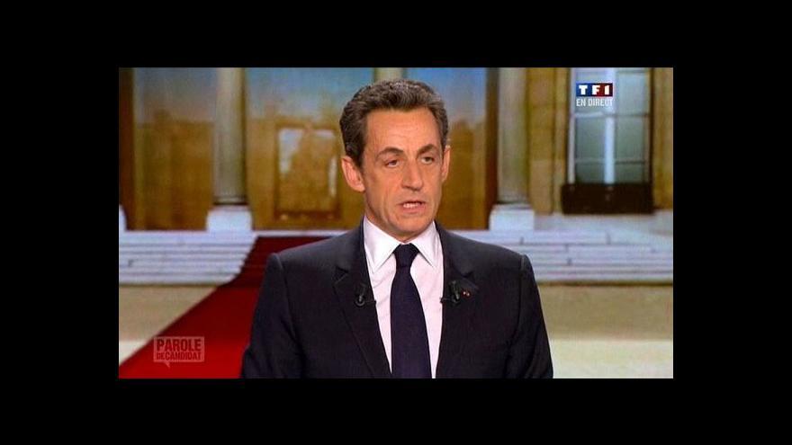 Video Francie volí prezidenta