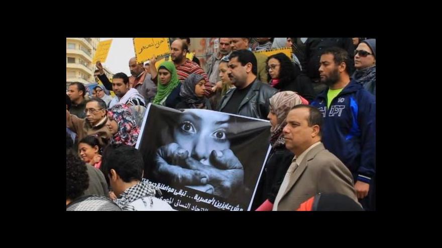 Video Egypťanka chce mezinárodní soud